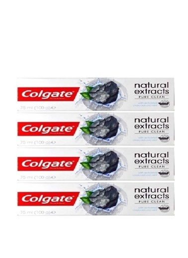 Colgate Diş Macunu Natural Extracts Aktif,RNKSZ Renksiz